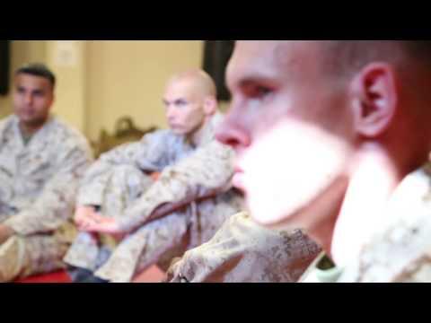 Kelly Grissom with Marines at Quantico, VA; BJJ/grappling & combat