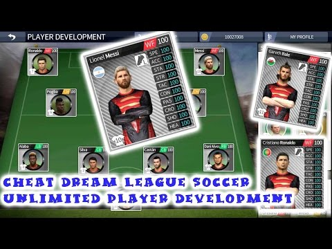 Cheat Dream League Soccer 2016 Unlimited Player Development For Non Rooted  Device