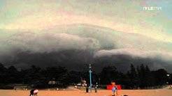 Myrsky saapuu helsinkiin 8.8.2010