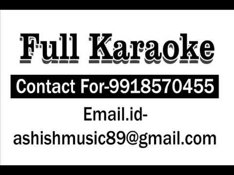 Mehndi Laga Ke Rakhna Karaoke With Chorus
