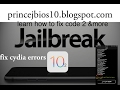 How to fix cydia errors var/lib/dpkg esay way