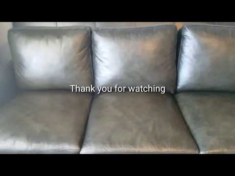 Easiest and safest way to clean a leather couch