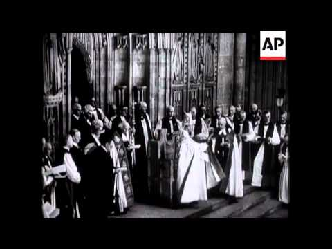 New Archbishop Of Canterbury Enthroned