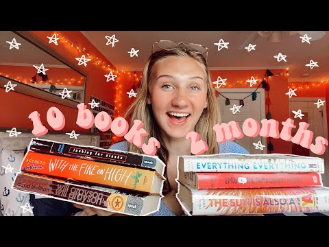 HONEST REVIEWS AND RECOMMENDATIONS FOR 10 POPULAR YOUNG ADULT BOOKS// 10 books, two months// ep. 8:)