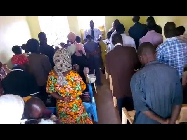 Worshipping Jesus in Moi's Bridge Kenya WFF GMFC Update July 24th 2018
