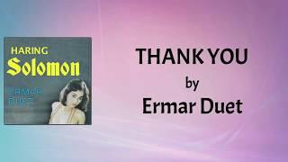 Ermar Duet - Thank You (Lyrics Video)