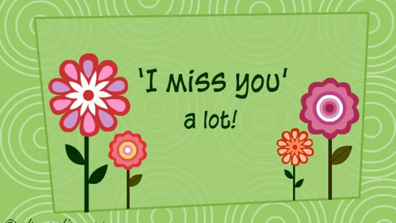 Miss You Messages Ecard Greeting Card Whatsapp Video 13