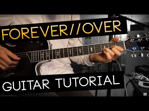 forever//over Guitar Tutorial - EDEN (WITH CHORDS)