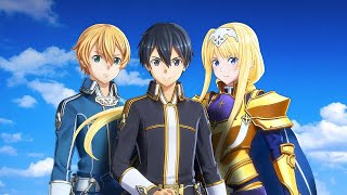 Sword Art Online: Alicization Lycoris English Playthrough Part 1 [PC]