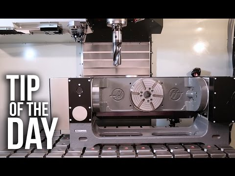 How to Command a Safe Tool Change Position to Avoid Fixtures and Rotaries – Haas Tip of the Day