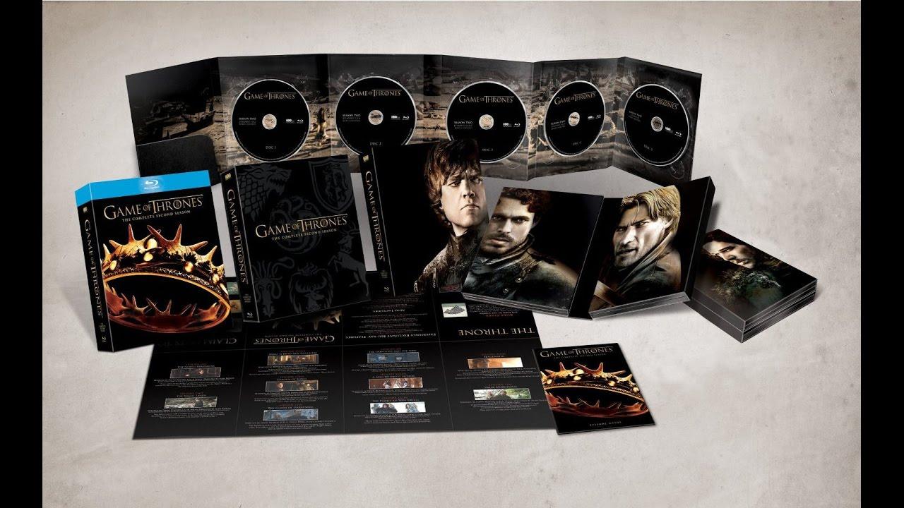 Game Of Thrones Bluray Box
