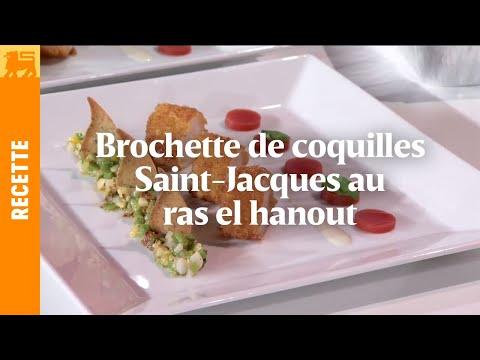 Biggest Cooking Event - Brochette de coquilles Saint-Jacques au ras el hanout de Lionel Rigolet
