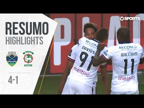 Highlights | Resumo: Chaves 4-1 Marítimo (Liga 17/18 #33)
