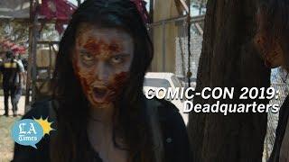 Comic-Con 2019: The Walking Dead's Deadquarters thumbnail