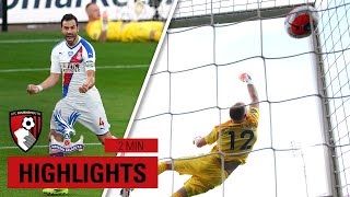 LUKA'S FREE KICK MASTERCLASS | Bournemouth 0-2 Palace