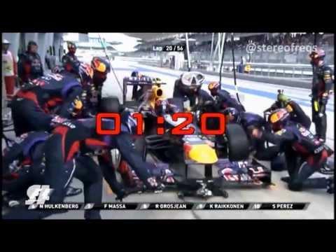 Red Bull Racing afina los PitStop y ya es el más rápido cambiando neumáticos.