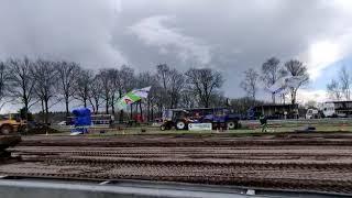 Trekkertrek Loosbroek 2019 - Renault 103.12 TX - 4.5 ton landbouw - finale trek