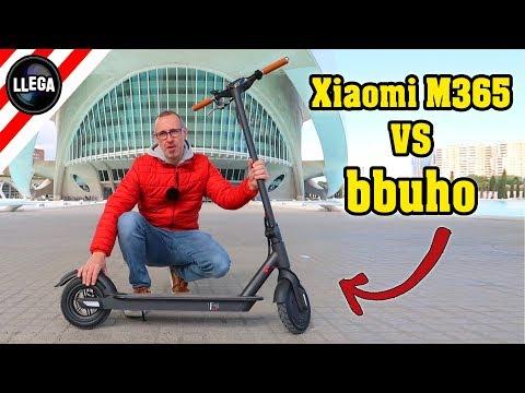 ¿Cual es Mejor? Xiaomi M365 o bbuho Pavilion | El Mejor Patinete Eléctrico
