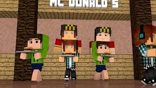 Minecraft: Clones Trabalhando No McDonald