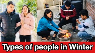 Types of People in Winters    Charu Dixit   