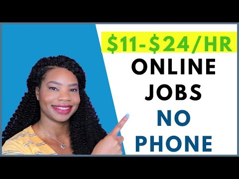 4 No-Phone Work-From-Home Jobs. Global. Entry Level   Online, Remote Work-At-Home Job September 2019