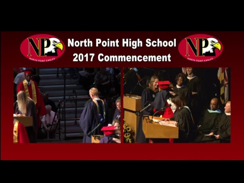 North Point High School Class of 2017 Commencement