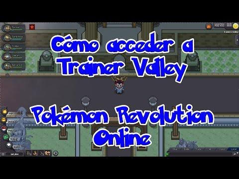 Cómo acceder a Trainer Valley - Pokémon Revolution Online