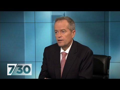 Bill Shorten speaks to 7.30 before election day | 7.30