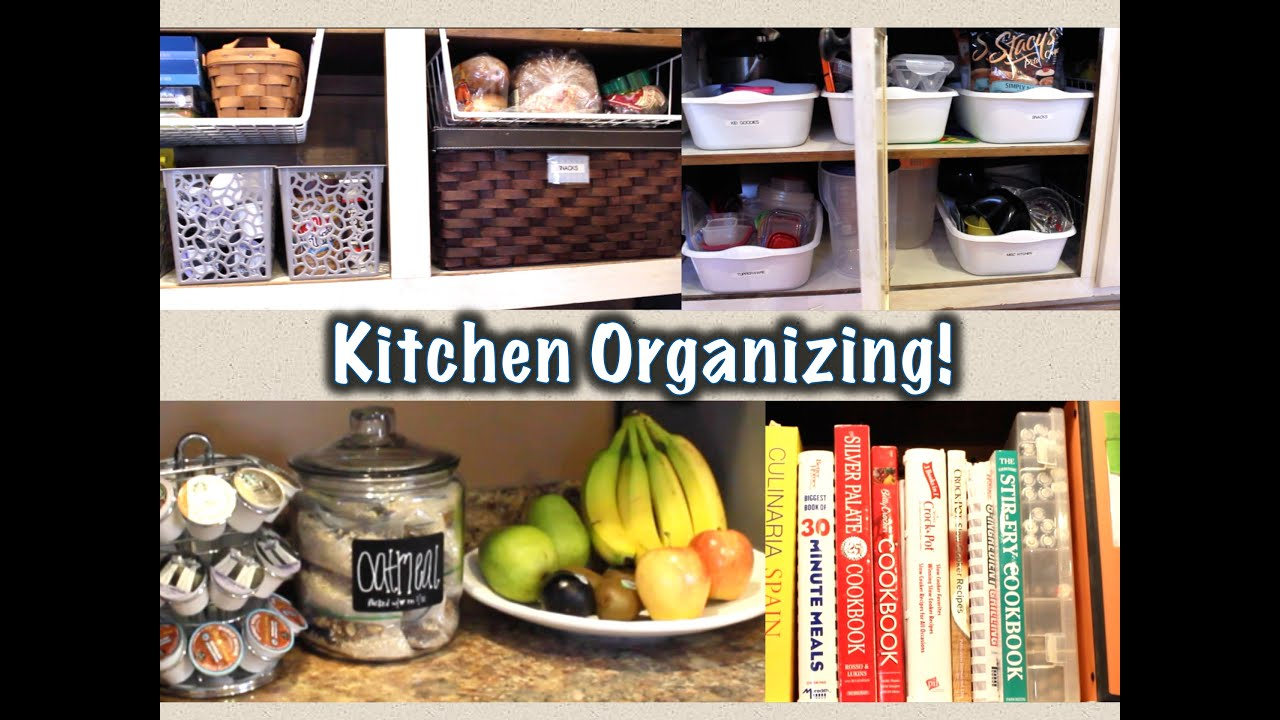 Kitchen Organization Ideas For Small Spaces