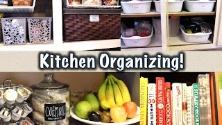 Cheap Kitchen Organization Ideas | Favorite Organized Space Collab