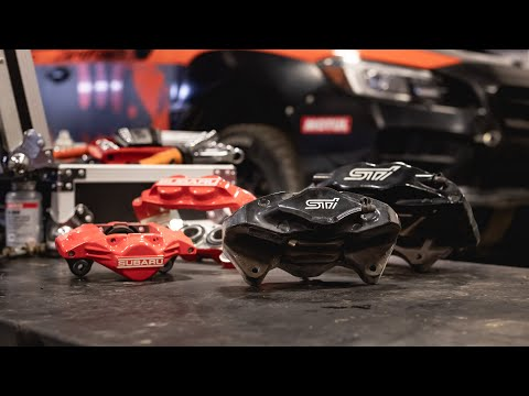Rally Brake Package - Why Would You Downsize Your Brakes?