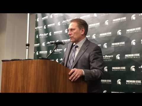 Tom Izzo after Purdue loss