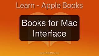 Apple Books App for Mac Interface Tutorial