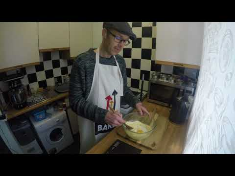 The Battling Baker - Coconut & Raisin Oat Crunch Biscuits