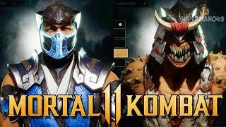Mortal Kombat 11: ALL Gear Showcase, Skins & Special Moves! - Mortal Kombat 11 Customization