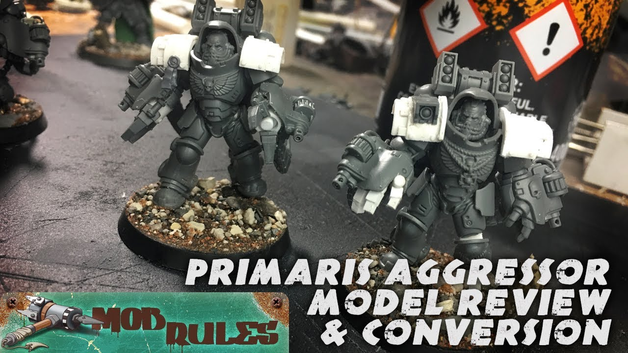 Space Marine Primaris Aggressors Review And Conversions