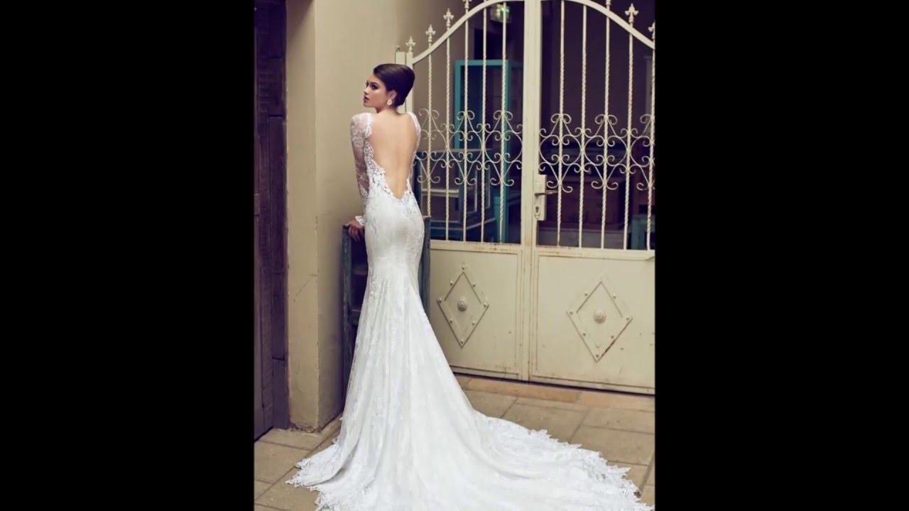 Vestidos novia espalda abierta