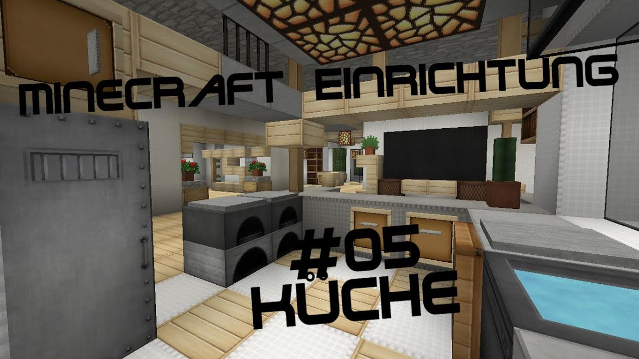 Minecraft Einrichtung Mit Jannis Gerzen #05 Küche