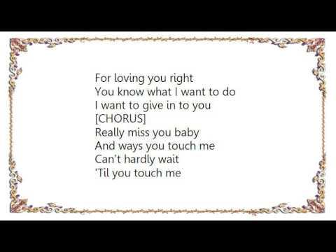 Brandy - When You Touch Me Lyrics