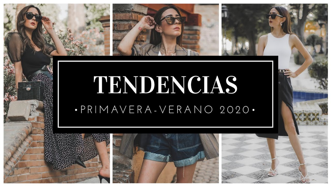 Zara Tendencias Primavera Verano 2020 Moda Como Combinarlas Looks De Ejemplo Youtube