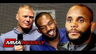 Daniel Cormier Says Brock Lesnar Needs to Be Clean From Steroids, No to Jon Jones  (UFC 226)
