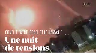 Nouvelle nuit de violence entre le Hamas et Israël