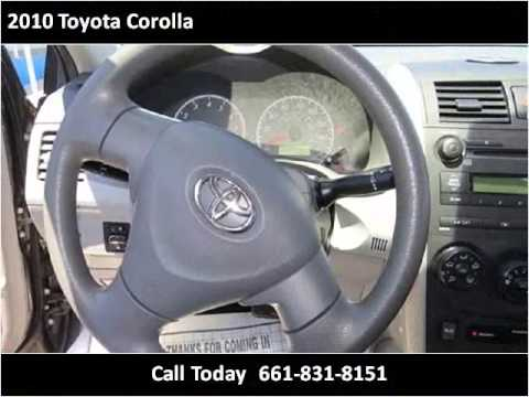 2010 Toyota Corolla Used Cars Bakersfield Ca Youtube