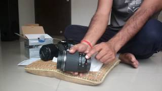 tamron 18-200mm f 3 5-6 3 Di II VC lens for canon unboxing and review