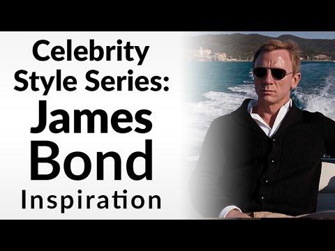 Dress Like James Bond   Celebrity Style Series   Ashley Weston Men's Stylist   Casual Style 007
