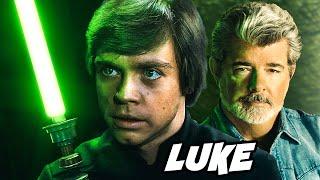 George Lucas Explains why Luke Skywalker is Vader's Equal in Return of the Jedi