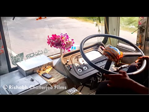 APSRTC Express Bus Journey Video: Vijayawada - Machilipatnam