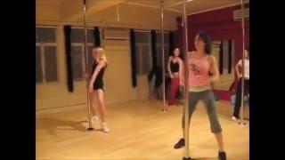 Hip Hop Pole Dance Routine