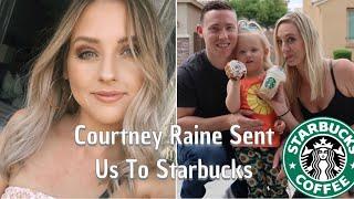 Courtney Raine Sent Us To Starbucks| Youtuber Picks My Starbucks Drink