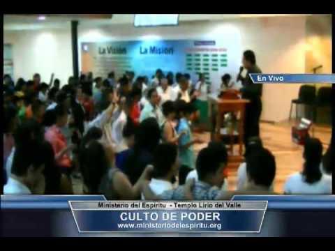 Culto de Poder del Templo Lirio del Valle del Ministerio del Espíritu 21-4-2013